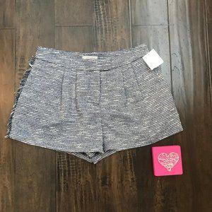 *3/$18*1. State Blue/White Fringed Tweed Shorts